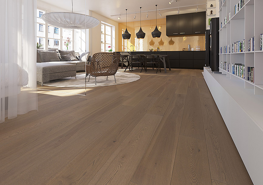Woodline Smart XL Rovere Camoscio